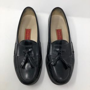 Cole Haan City Black Tassel Loafers 10.5 C